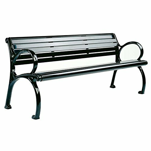 Mcpherson Patio Park Aluminum Garden Bench by Canora Grey