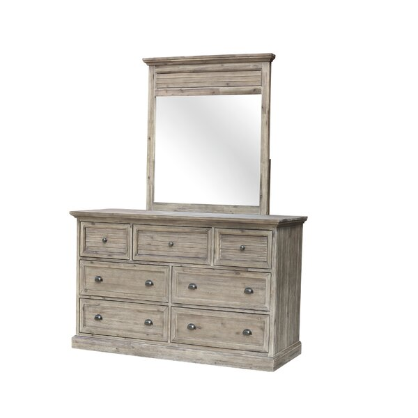 Kenric 7 Drawer Dresser with Mirror by Gracie Oaks
