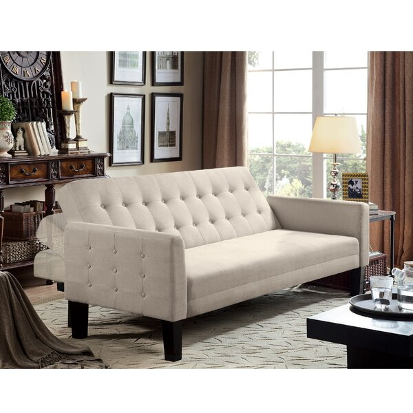 New Collection Muscogee Convertible Sofa by Winston Porter by Winston Porter