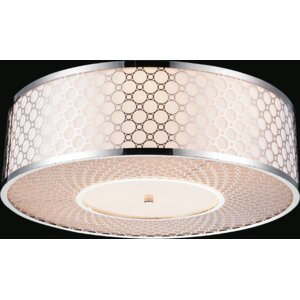 5-Light Flush Mount