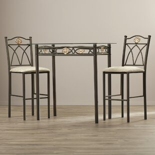 Where buy  Cloville 3 Piece Counter Height Pub Table Set By Andover Mills