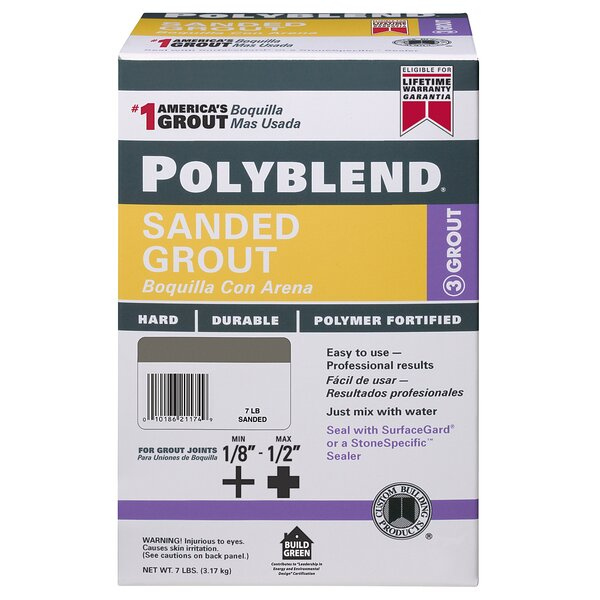 Polyblend Sanded Grout (Set of 4) by Custom Building Products
