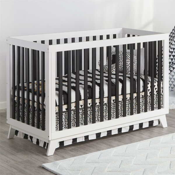 Amey 3-in-1 Convertible Crib by Harriet Bee