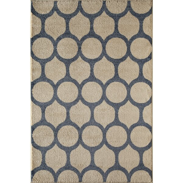 Tan/Black Area Rug by The Conestoga Trading Co.
