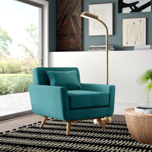 Norton St. Philip Armchair By Mercury Row Wonderful