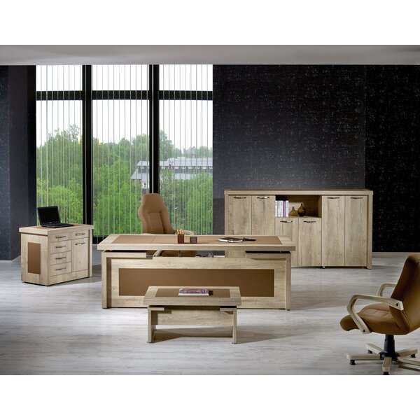 Alisson Modern 4 Piece Desk Office Suite by Corrigan Studio