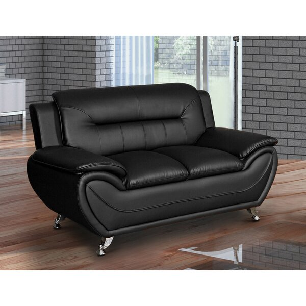 Get Great Garfield Loveseat by Orren Ellis by Orren Ellis
