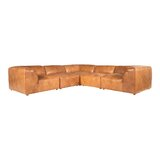 Bejarano Leather 114 Left Hand Facing Modular Sectional by 17 Stories