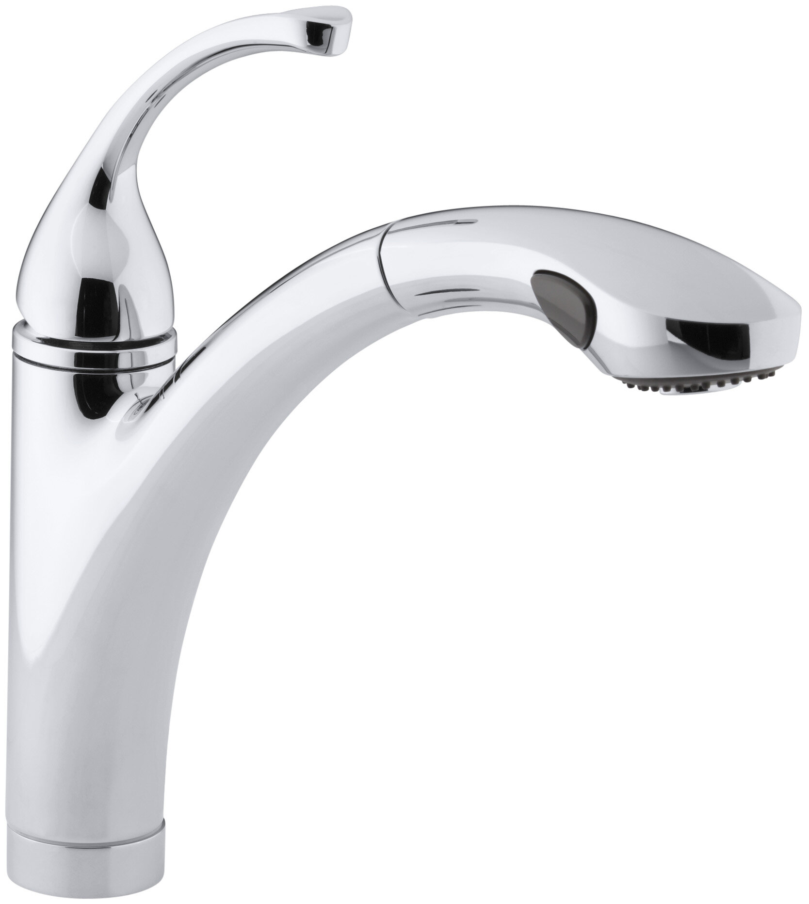 K 10433 Bn Vs G Kohler Forté Single Hole Or 3 Kitchen Sink Faucet With 10 1 8 Pullout Spray Spout And Masterclean Reviews Wayfair
