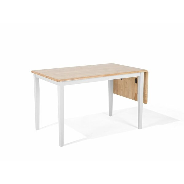 Fairbury Extendable Solid Wood Dining Table by Winston Porter