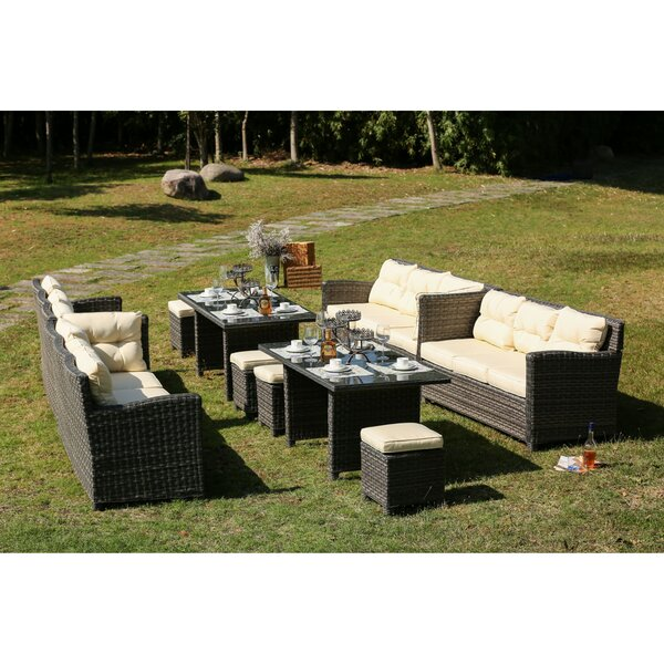 Scalise 5 Piece Dining Set With Cushions by Canora Grey
