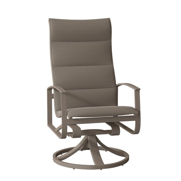 MainSail Swivel Patio Dining Chair by Tropitone