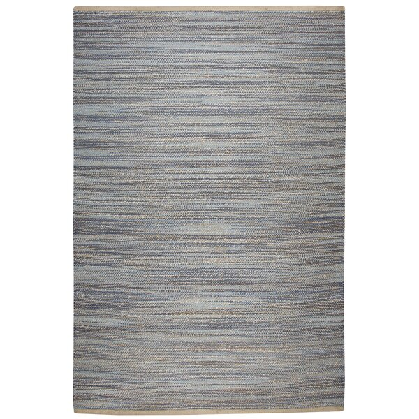 Carillon Hand Woven Navy Area Rug by Highland Dunes