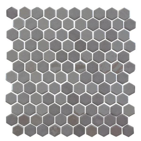 Onix 1 x 1 Glass Mosaic Tile