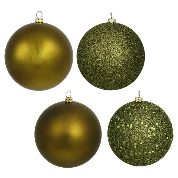 18 Piece Shatterproof Christmas Ball Ornament Set by The Holiday Aisle