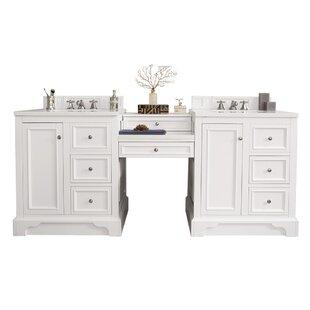 Kewstoke 85 Double Bathroom Vanity Set ByAlcott Hill