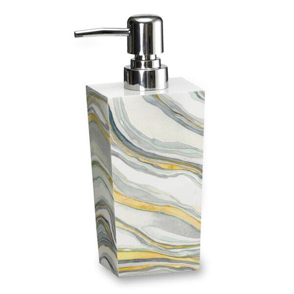 Shell Rummel Stone Lotion Dispenser by Popular Bath
