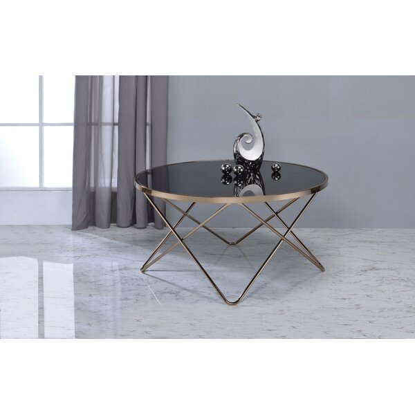 Sterner Sled Coffee Table By Wrought Studio