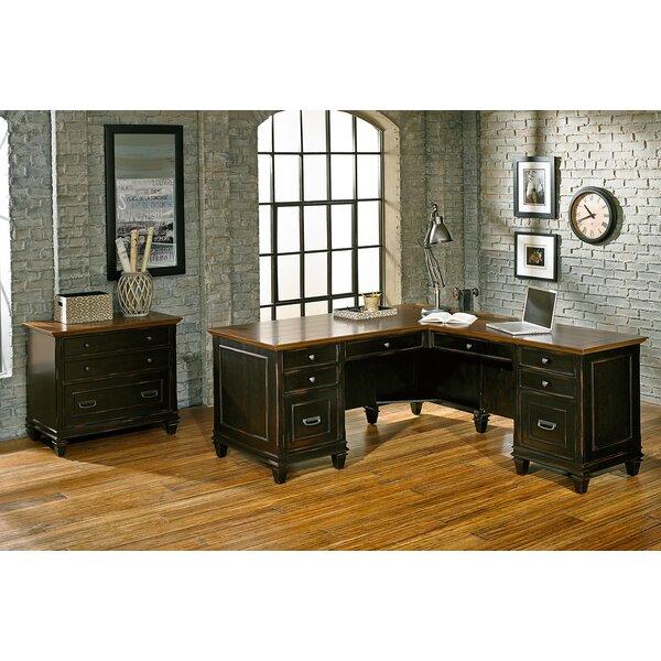 Django 3 Piece L-Shaped Desk Office Suite by 17 Stories