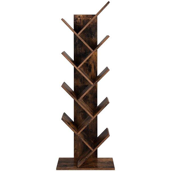 Review Trivette Geometric Bookcase