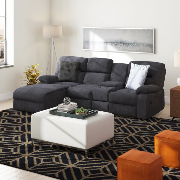 Wiss Left Hand Facing Reclining Sectional