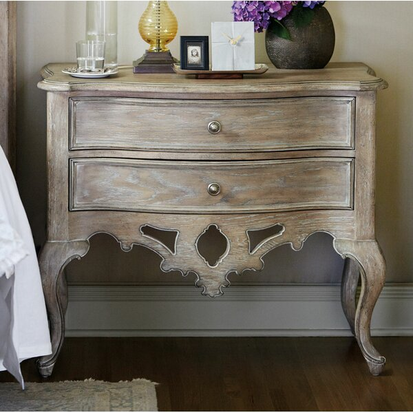 Campania 2 Drawer Nightstand by Bernhardt