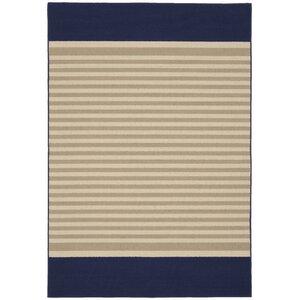 Sideline Navy/Tan Area Rug