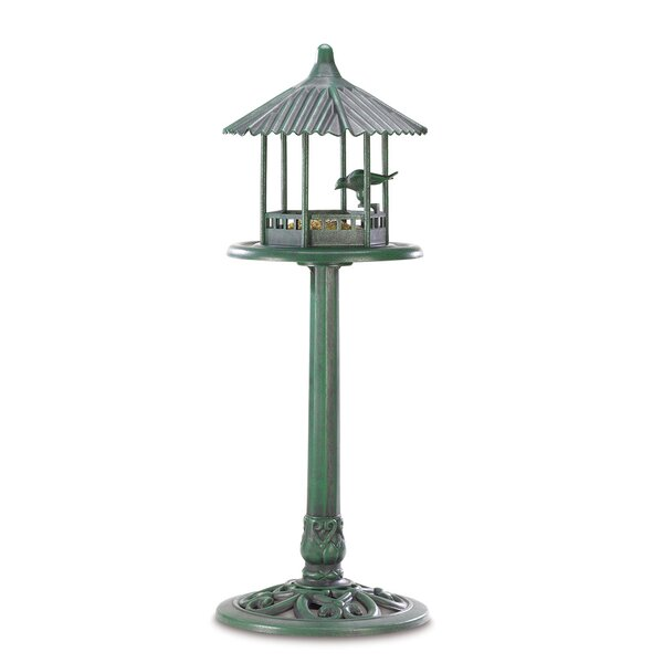 Verdant Pavilion Decorative Bird Feeder by Zingz &