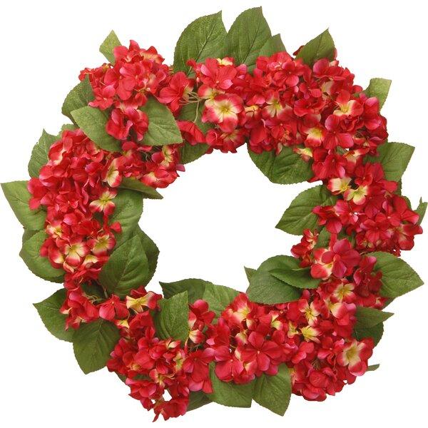 24 Hydrangea Wreath by National Tree Co.
