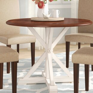 Coupon Laura Farmhouse Dining Table By August Grove