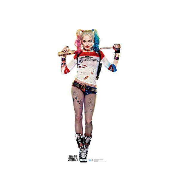 Suicide Squad Harley Quinn Stand-Up by Advanced Graphics