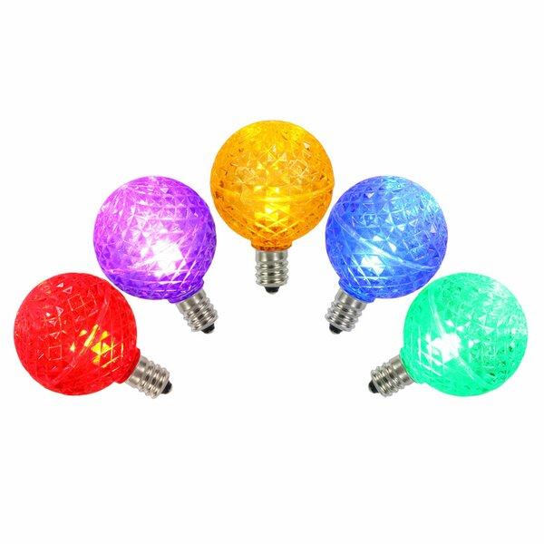 96W Multi E12 LED Light Bulb (Set of 5) by Vickerman