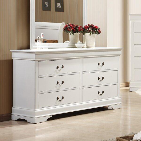 Tina 6 Drawer Wood Dresser by Laurel Foundry Modern Farmhouse