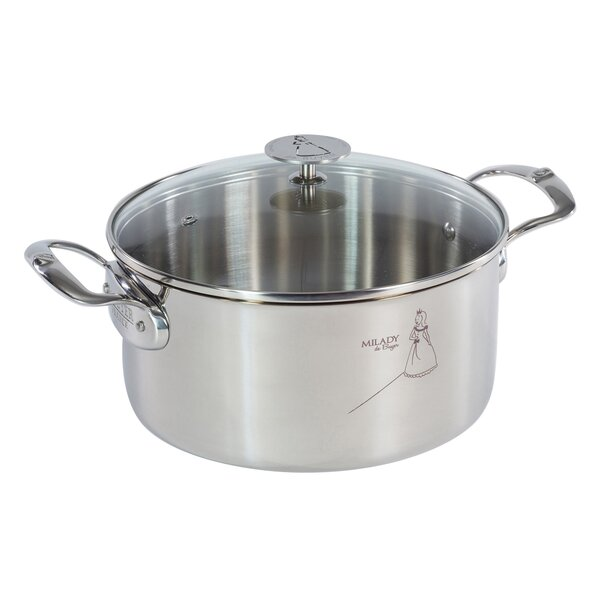 Milady Stew Pan with Lid by De Buyer