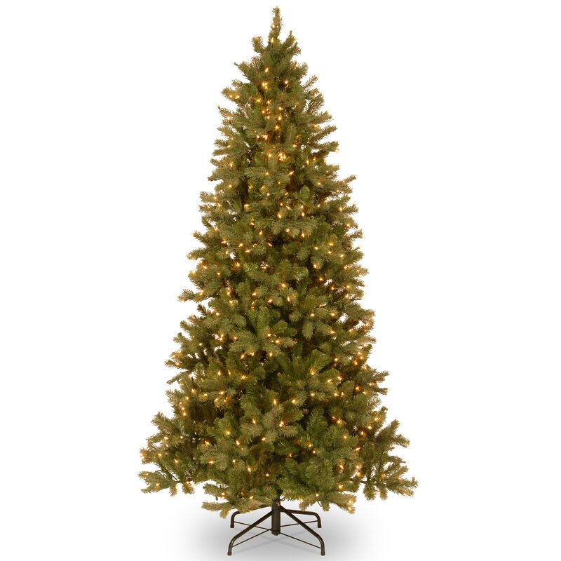 Next Slim Christmas Tree: The Holiday Aisle Feel Real Downswept Douglas Slim 6.5