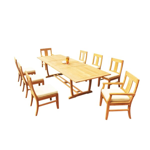Mas 9 Piece Teak Dining Set by Teak Smith
