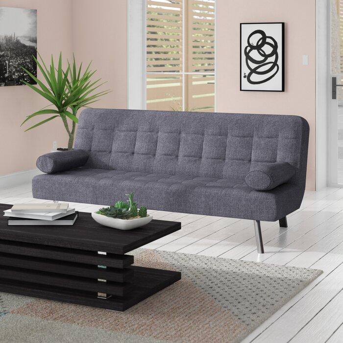 Superb Ratliff 2 Seater Clic Clac Sofa Bed Evergreenethics Interior Chair Design Evergreenethicsorg