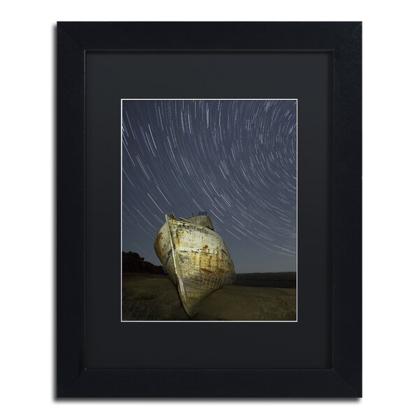 Point Reyes II by Moises Levy Framed Photographic Print by Trademark Fine Art