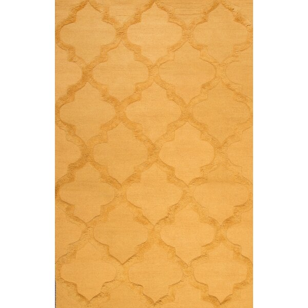Koshney Hand-Tufted Gold Area Rug by nuLOOM