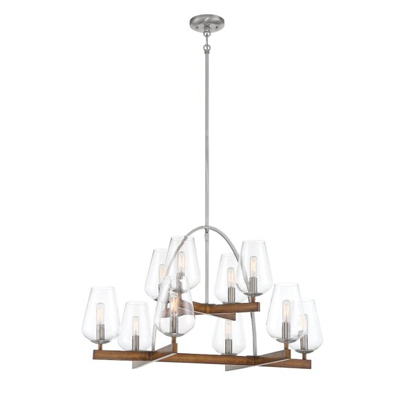 Voni 10 - Light Candle Style Empire Chandelier by Gracie Oaks Gracie Oaks