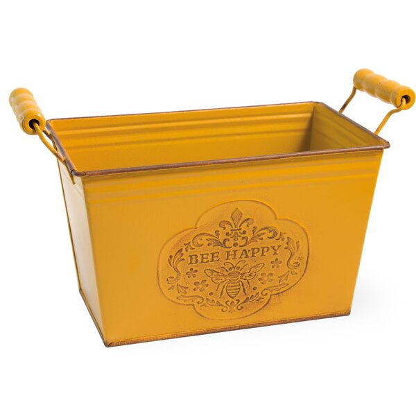Taraval Bee Happy Planter Box (Set of 2) by August Grove