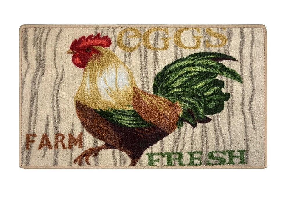 Plainfield Rooster Kitchen Mat