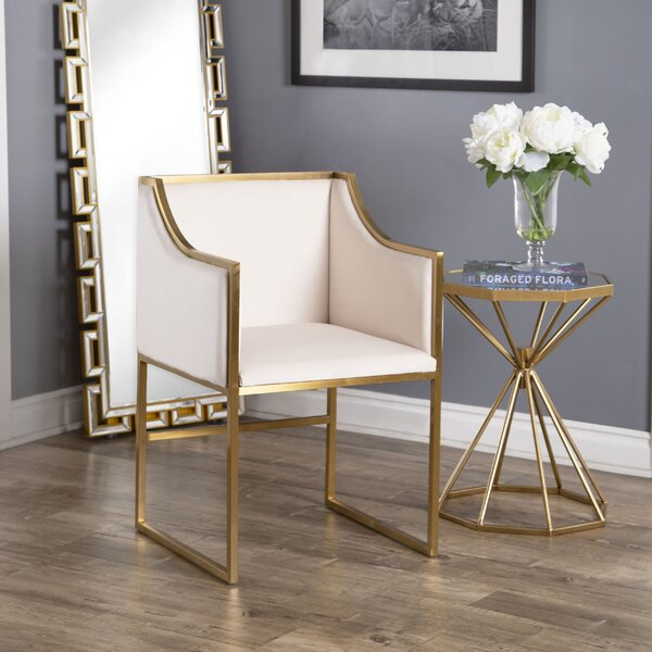Best #1 Lulie Upholstered Dining Chair By Everly Quinn Design