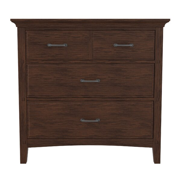Moradian Modern 3 Drawer Chest by August Grove
