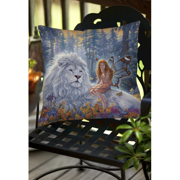 Star Birth Indoor/Outdoor Throw Pillow by Manual Woodworkers & Weavers