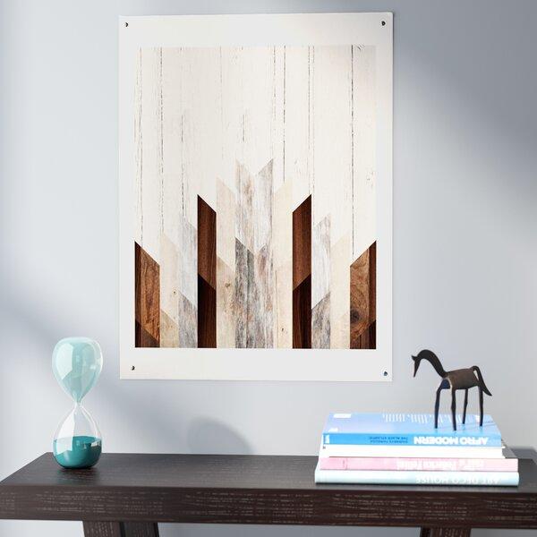Geo Wood 3 Graphic Art by Wrought Studio