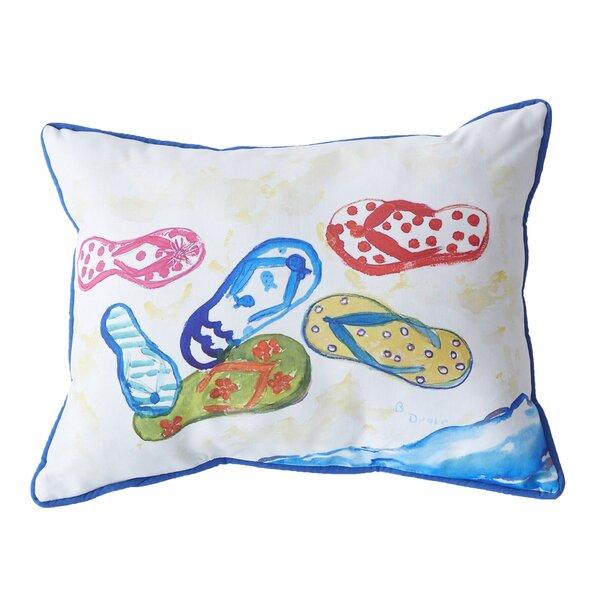Zulema Outdoor Lumbar Pillow by Highland Dunes