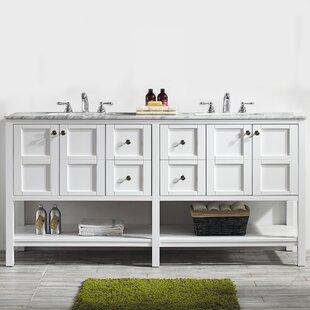 Caldwell 72 Double Vanity Set ByBeachcrest Home