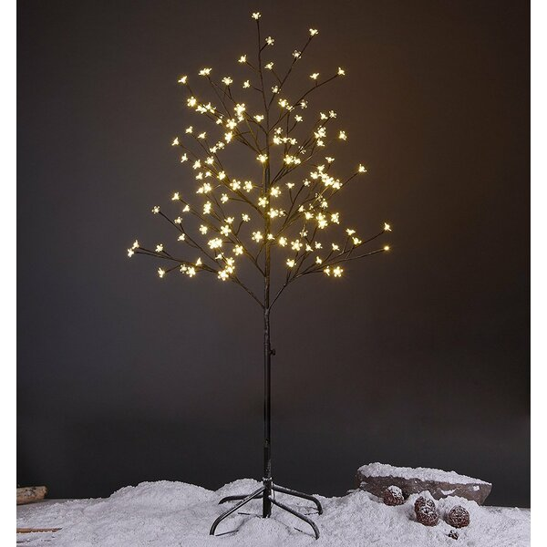 Cherry Blossom Lighted Tree 144 LED String Lights by The Holiday Aisle