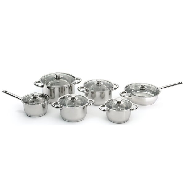 Vision 12 Piece Stainless Steel Cookware Set by BergHOFF International